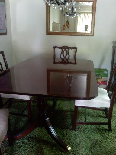 Kindel Furniture Company Dining Table with six chairs eBay